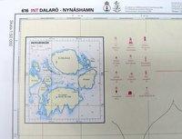 Övningssjökort Ostkusten (Förarintyget) 616