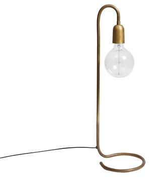 Bordslampa H. Skjalm P. Hög 65cm Rå mässing