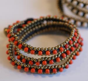Armband från Lo-ika Milano Orange