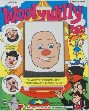 Wooly Willy Tobar - skapa din egen frisyr