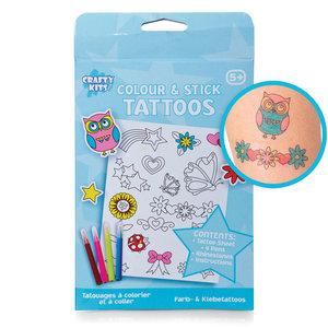 Färglägg din egna Tattoo