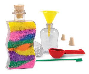 Sand art - skapa fina prydnadsflaskor Melissa & Doug