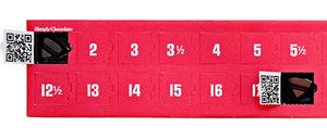 Chokladkalender/julkalender Simply Chocolate 30 bitar