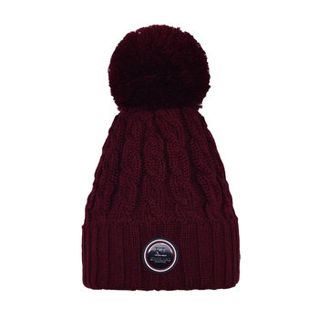 Kingsland Iroquis Ladies Knitted Hat Red Port Royal