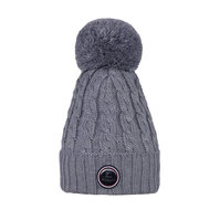 Kingsland Iroquis Ladies Knitted Hat Light Grey