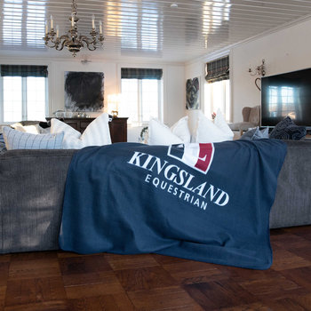 Kingsland fleece pledd