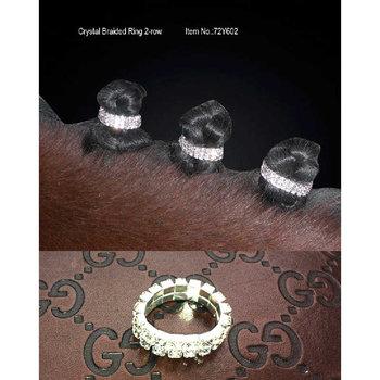 Manstrikk med krystaller