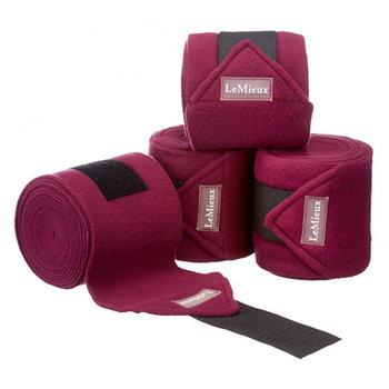 LeMieux fleece bandasjer 2 pakk