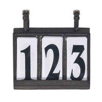 Vognnummer i lær