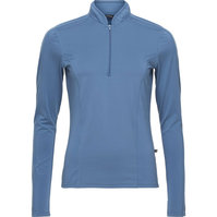 Equipage Axon long sleeve shirt Thunder blue