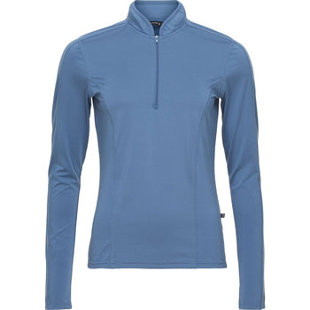 Equipage Axon long sleeve shirt Thunder blue