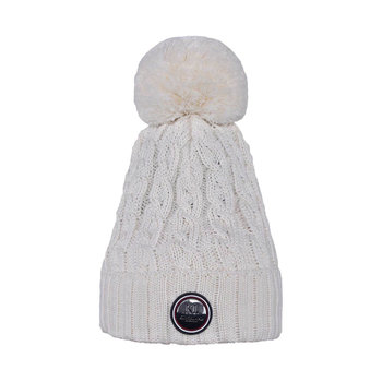 Kingsland Iroquis Ladies Knitted Hat Cream