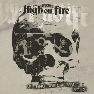 High On Fire - Spitting Fire Live Vol 1 and Vol 2 - Röd-Grå LP