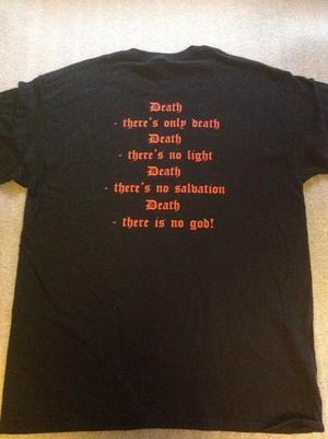 Lord Belial - Röd Logo m baktryck - t-shirt