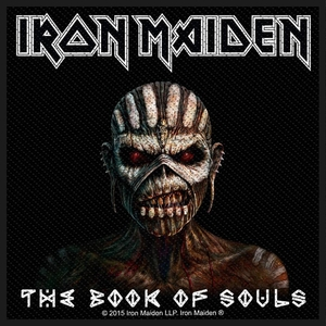 Iron Maiden - The Book Of Souls - patch