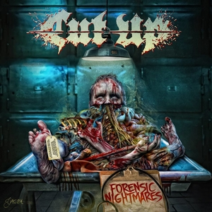 Cut Up - Forensic Nightmares - CD