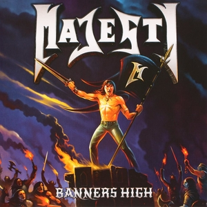 Majesty - Banners High - Orange LP