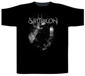 Satyricon - Black Crow On A Tombstone - t-shirt