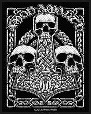 Amon Amarth - Three Skulls - patch