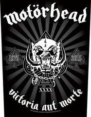 Motörhead - Victoria Aut Morte - backpatch