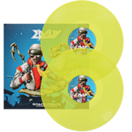 Edguy - Space Police - Gul LP