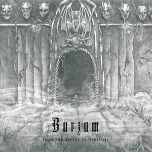 Burzum - From The Depths Of Darkness - White LP