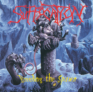 Suffocation - Breeding The Spawn - Blå LP
