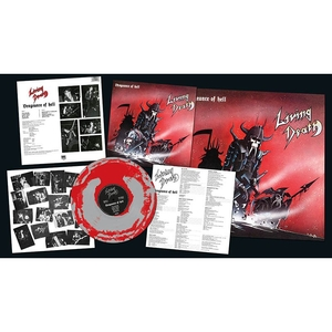 Living Death - Vengeance Of Hell - Grey-Red LP