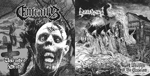 Entrails - Graveyard ESP - Unleashed Wrath - Silent Whispers Of The Graveless - 7