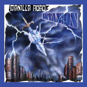 Manilla Road - Invasion - Blue LP