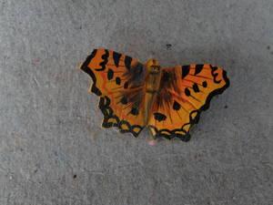 Fjäril/magnet