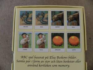 ABC-Kortspel/Elsa Beskow