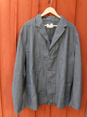 Kavaj/40-tals modell    Svart/ Beige