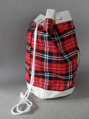 Retro-Bag/Rödrutig  TILLFÄLLIGT SLUT