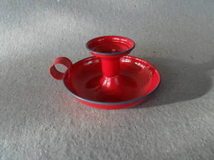 Ljusstake/Röd