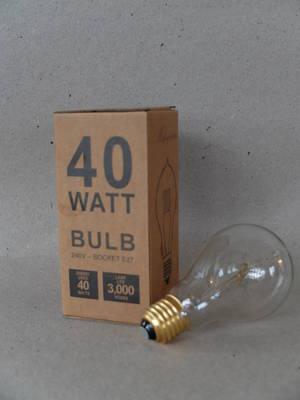 Glödlampa/40 w