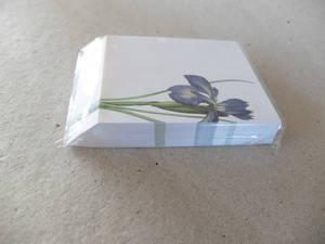 Noteringsblock Iris
