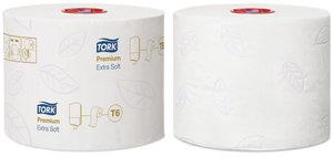 Tork Mid-size Extra Mjukt Toalettpapper - 3 lager, T6