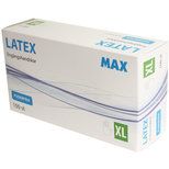 MAX Latexhandske Opudrad XL