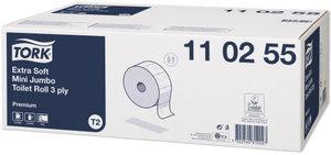 Tork Mini Jumbo Extra Mjukt Toalettpapper – 3-lagers, T2