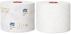 Tork Mid-size Mjukt Toalettpapper, T6