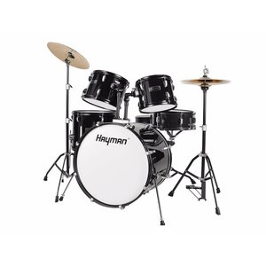 Hayman HM-100 Drum Set Black