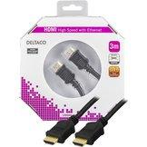 3m Deltaco HDMI Svart