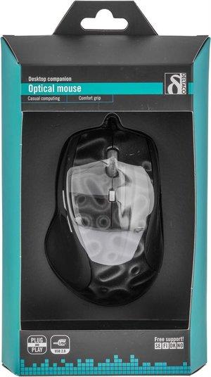 Deltaco MS-703 Optisk USB & PS/2