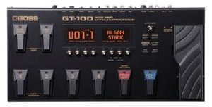 Boss GT-100 Multieffekt