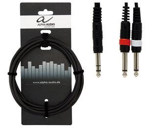 Alpha Audio Basic Y-kabel 6m