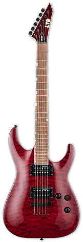 ESP/LTD MH-200QM NT See-Thru black cherry