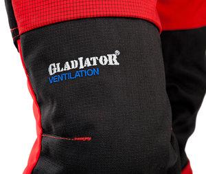 Gladiator Ventilation - sågskyddsbyxa - Röd