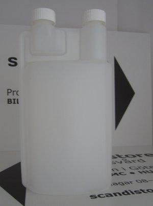 Doseringsflaska 1 liter med kopp 10-25 ml