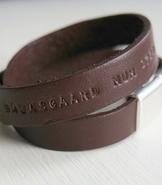 ID-band i läder